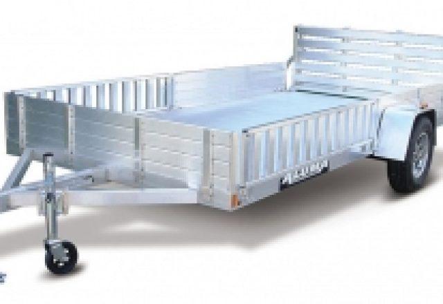 Aluma open utility trailers