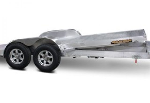 Aluma open car trailers
