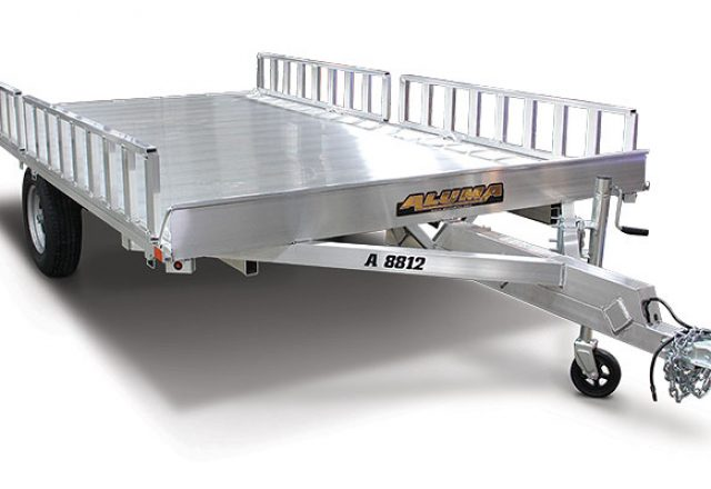 Aluma atv trailer