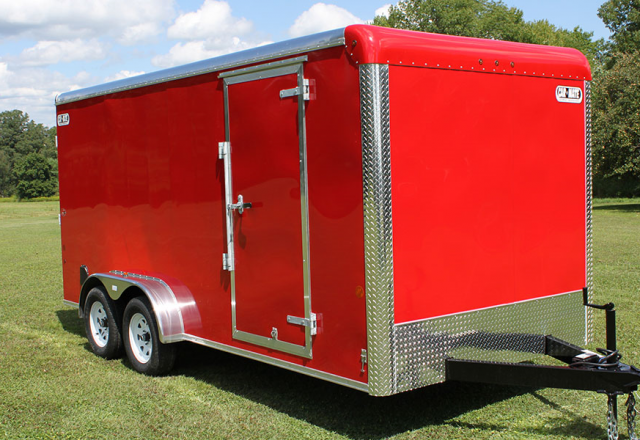 Car Mate enclosed cargo trailer