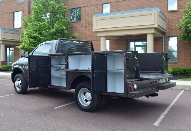 Warner utility truck body