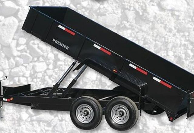 Premier dump trailer