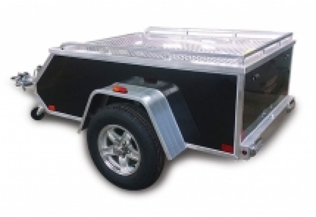 Aluma motorcycle trailer