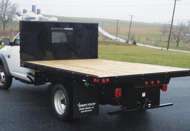 Swampy Hollow platform truck bodies