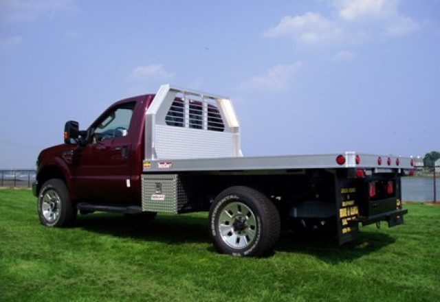 TruckCraft aluminum platform bodies