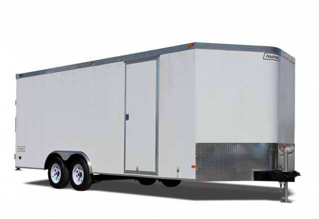 Haulmark enclosed car trailer