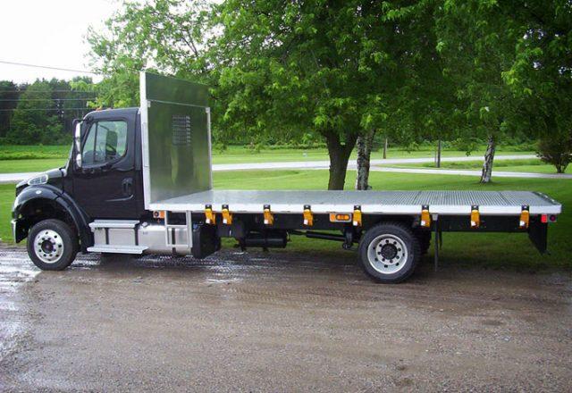 Voth platform truck bodies