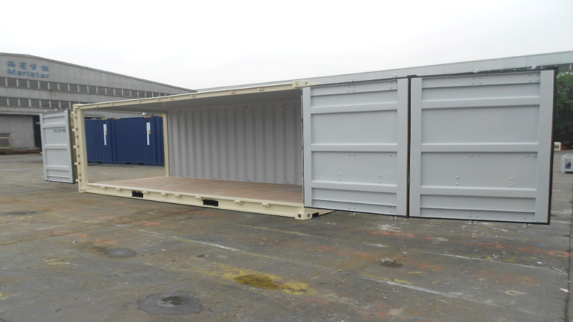 custom commercial storage container