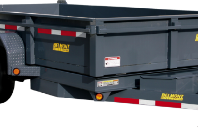 Belmont dump trailer