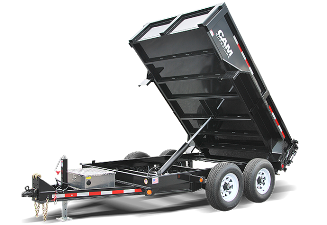CAM Superline dump trailers