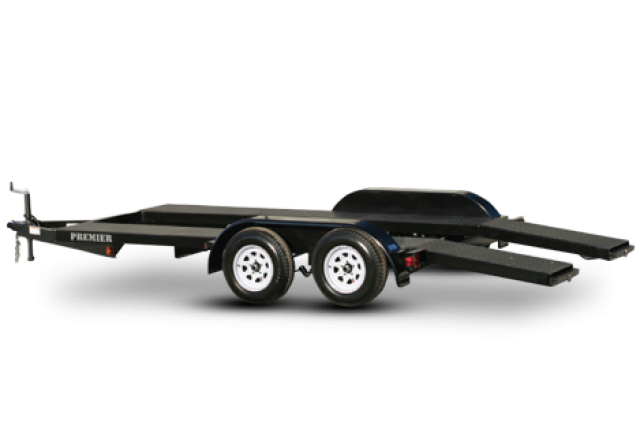 Premier open car trailer