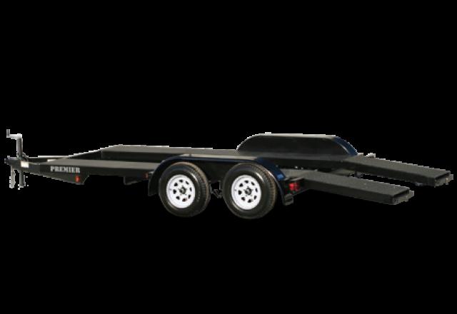 Premier open car trailer