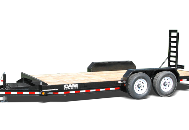 Cam Superline equipment trailer