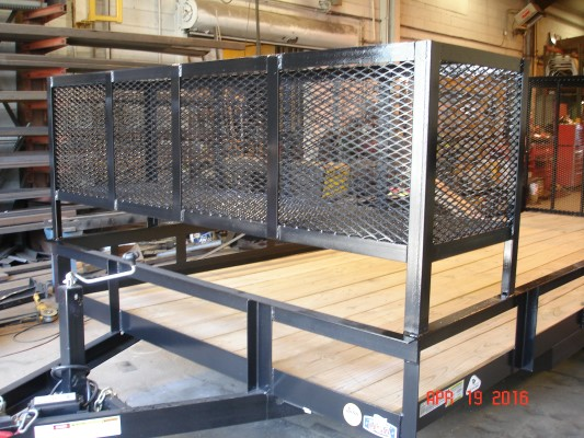 Custom Fabrication by TP Trailers