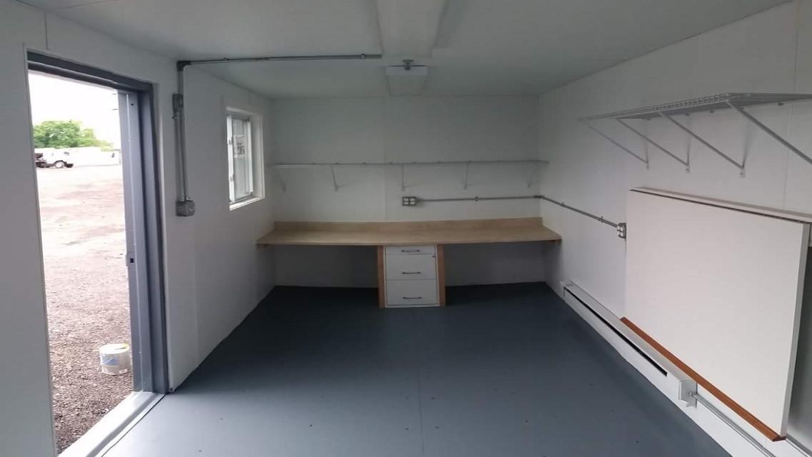 custom storage container interior
