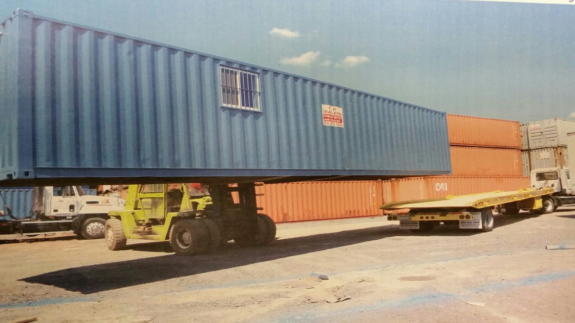 Storage Container by TP Trailers