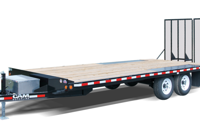CAM Superline deckover trailer
