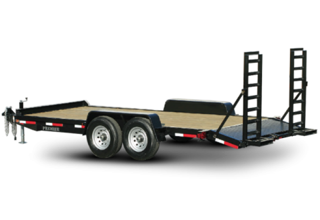 Premier equipment trailer