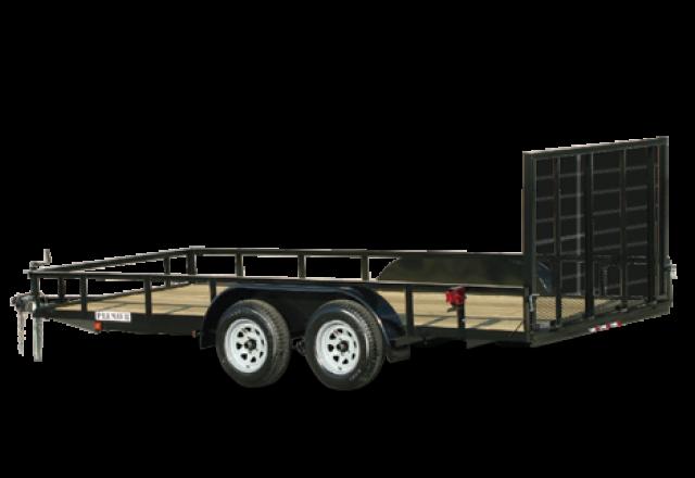 Premier open utility trailer