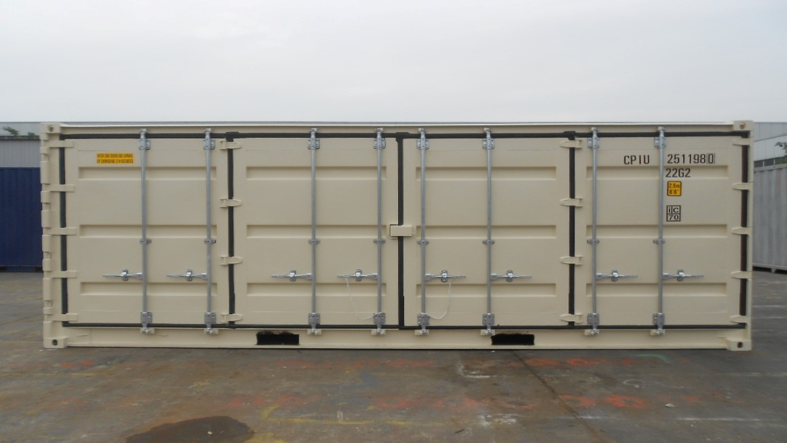 custom container by TP Trailers
