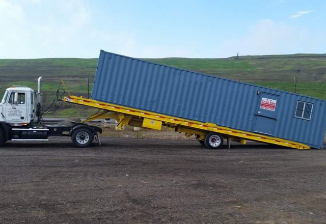TP Trailers Custom Storage Container