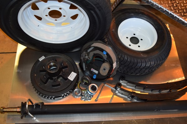 Parts for Trailer Equipment