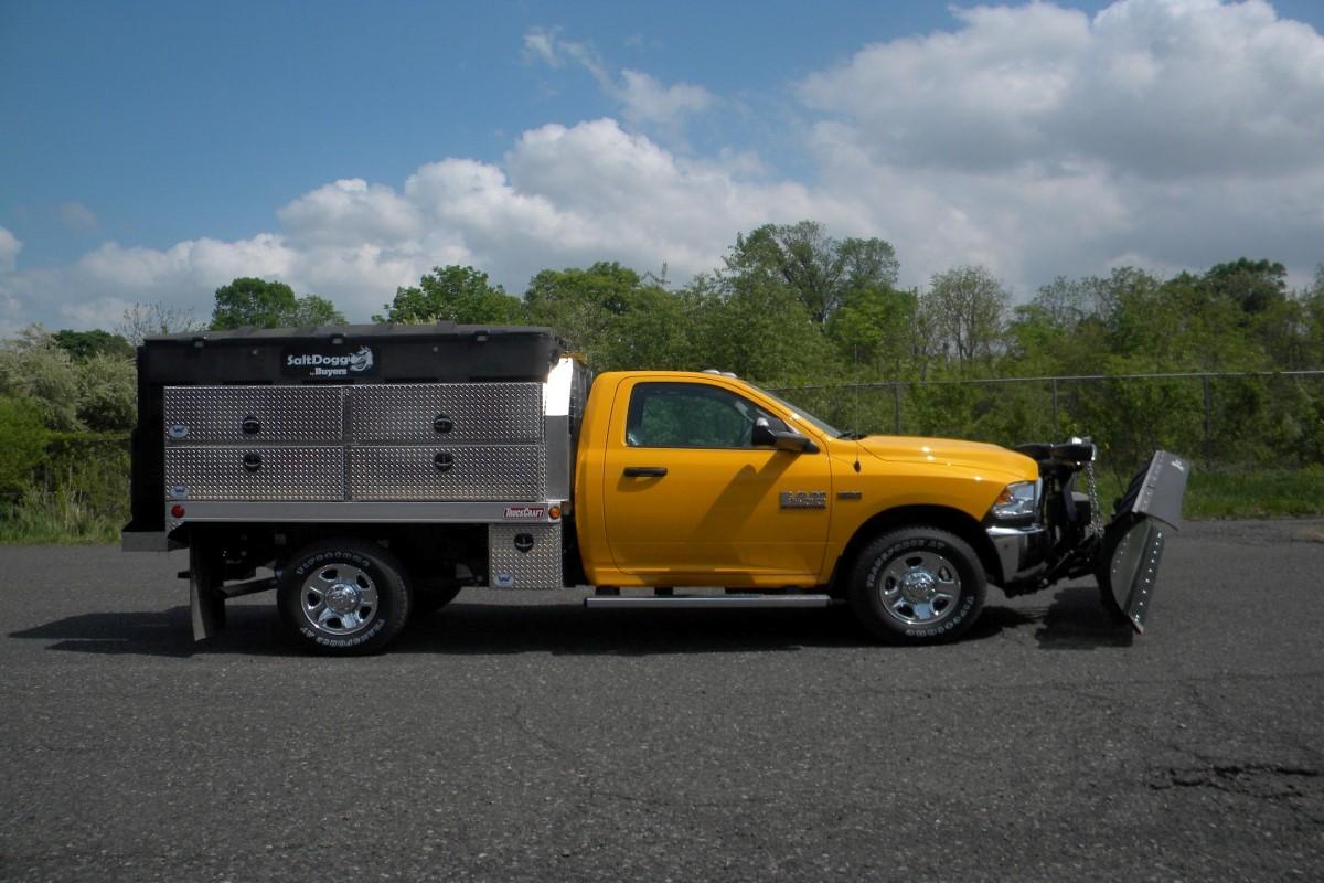 truck body with Buyers equipment