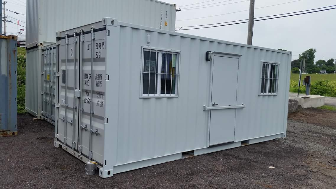 storage container with custom features