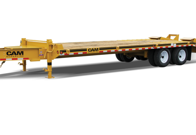 CAM Superline heavy equipment trailers