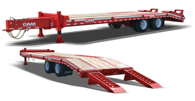 heavy equipment trailers for sale