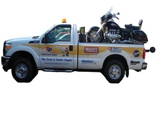 AmeriDeck Hydraulic Loading System