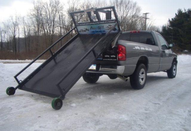 Superdeck trailer transportation