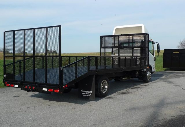 Landscape Truck Bodies Aluminum Amp Steel T P Trailers