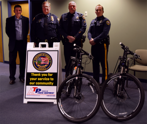 Donated Bicycles from T.P. Trailers, Inc. and D&L Group