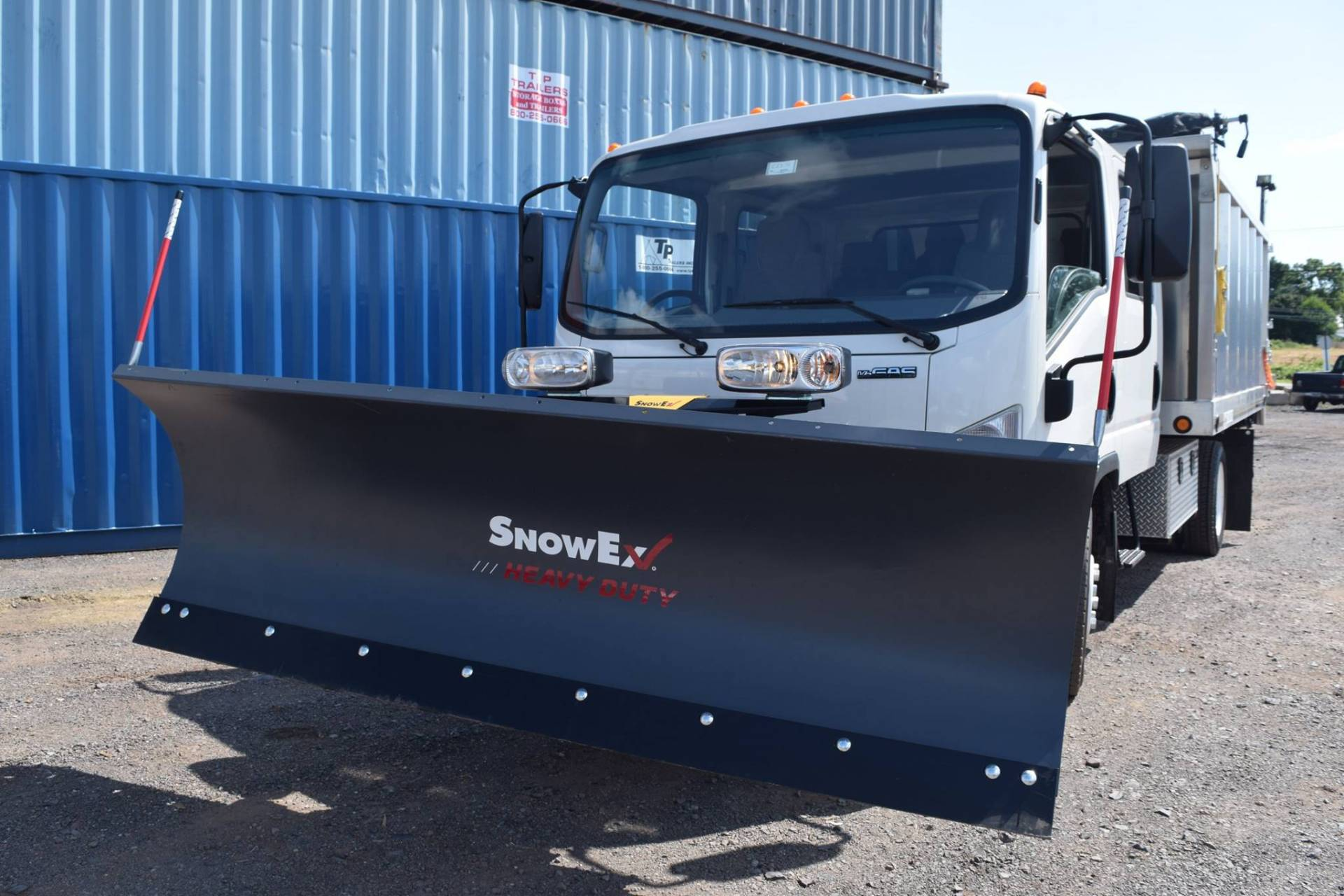 Snow Plow by SnowEx with Straight Blade