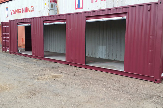 Storage Container for Snow Removal Equipment