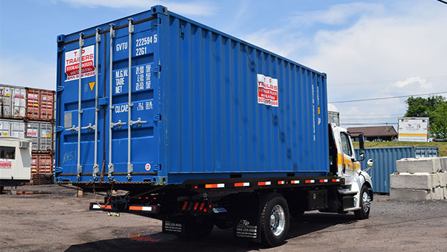 8'X20' steel storage container rental for homeowners