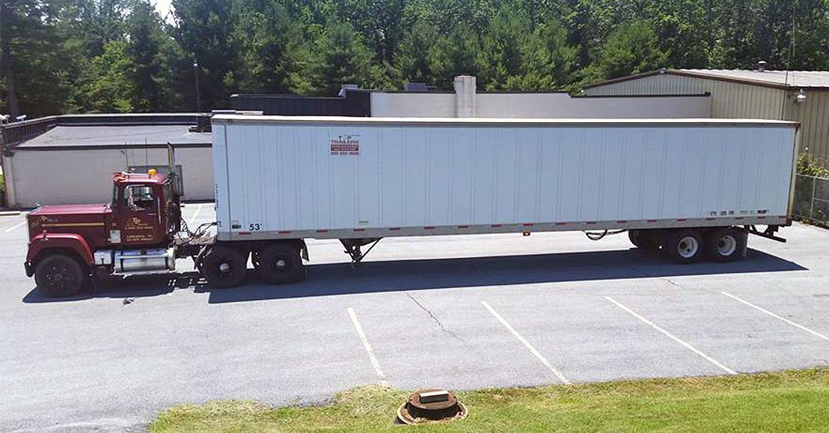 dry van storage trailer rental