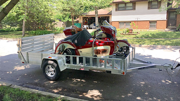 budget-friendly motorcycle trailer