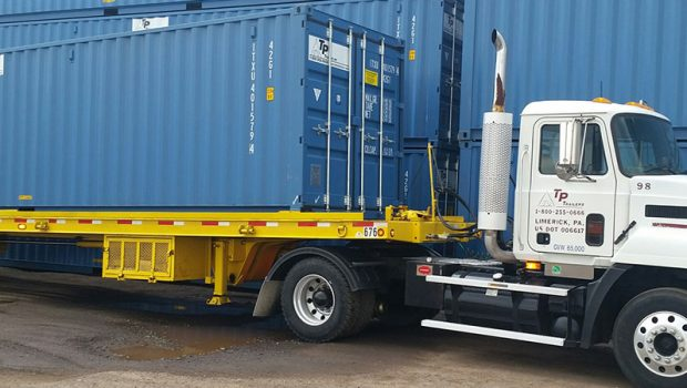 Storage Container Delivery & Transport Done Right