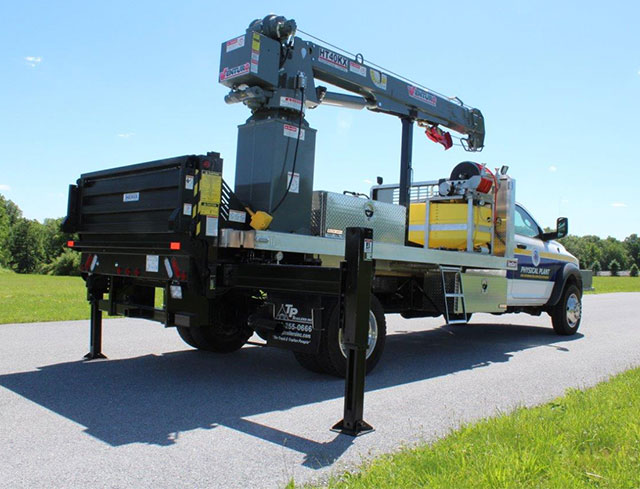 municipal service truck for bethlehem township