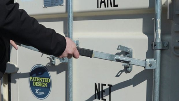 How to Unlock or Open Storage Container Doors