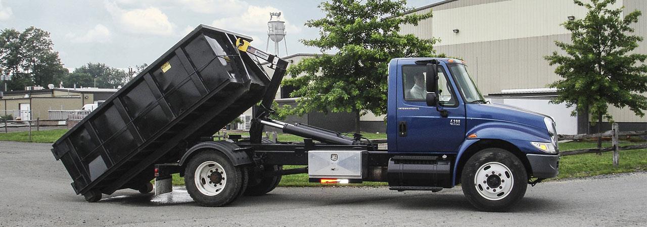 hooklift truck system