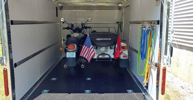 safe trailer weight