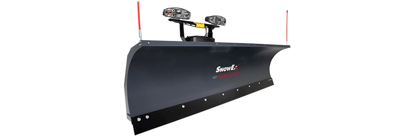 snowex straight plow