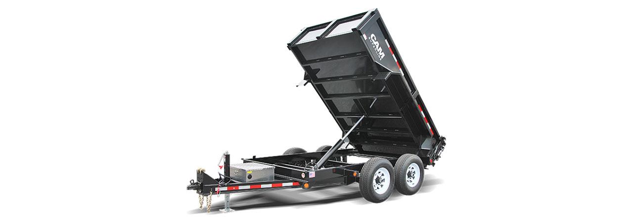 dump trailer sizes