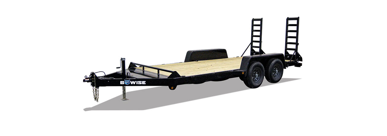 skid steer and equipment trailer sizes