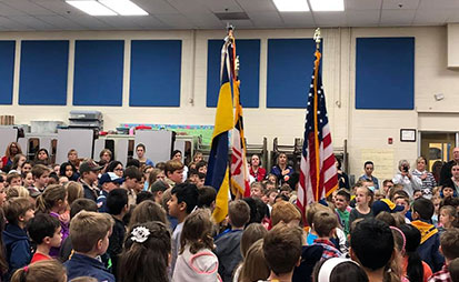 camp snoops project supporting veterans day program