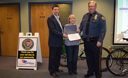 tp trailers bike donation to limerick police department
