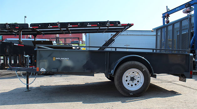 belmont 6x10 solid side utility trailer